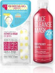 Ariul Juice Cleanse 2X Plus Mask Pack Raspberry & Lentil