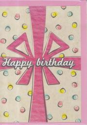 HENRY Karnet B6 - Urodziny, prezent