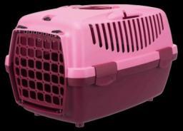 Trixie Transporter Capri 2 różowy XS–S: 37 × 34 × 55 cm