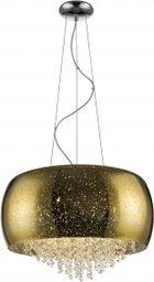 Zumaline Lampa wisząca Zuma Line Vista P0076-06K-F4GQ zwis 6x42W G9 złota