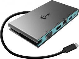 Stacja/replikator I-TEC Travel Stacja Dokująca 4K HDMI lub VGA, 20 cm kabel USB-C