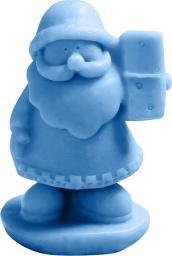 LaQ Happy Soaps Niebieski Mały Św. Mikołaj Owocowy 30g