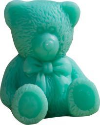 LaQ Happy Soaps Zielony Mały Miś Kiwi 30g