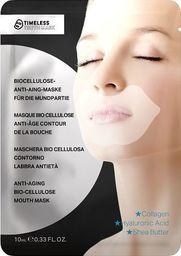 Timeless Truth Mask Anti - Aging Bio Cellulose Mouth Mask Przeciwzmarszczkowa maska do ust 10ml