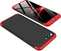 Hurtel 360 Protection etui na całą obudowę przód + tył Huawei Honor 10 czarno-czerwony