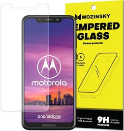 Wozinsky Wozinsky Tempered Glass szkło hartowane 9H Motorola One (opakowanie – koperta)