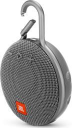 Głośnik JBL Clip 3 (JBLCLIP3GRY)