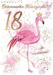 PASSION CARDS Karnet na 18-te urodziny