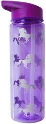 Incood Butelka na wodę Jednorożce fioletowy 710ml