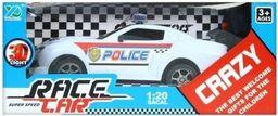 Mega Creative Samochód RC policja 1:20 biały