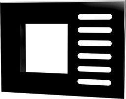 Alveus Maskownica czarna (1502052)