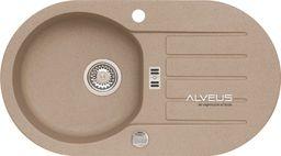 Alveus NIAGARA40 775x435x160mm kolor 55 - beż + syfon POP-UP, odwracalny