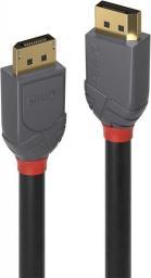 Kabel Lindy DisplayPort - DisplayPort, 1, Czarny (36481)