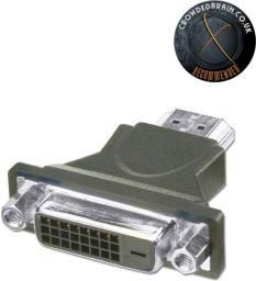 Adapter AV Lindy Przejściówka DVI-D (gniazdo) - HDMI (wtyk) (41217)