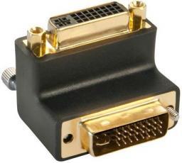 Adapter AV Lindy Przejściówka kątowa DVI 90 stopni (41253)