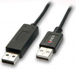 Lindy Kabel KVM Smart Data Link USB A-A 2.0 Lindy 42617 - 1m