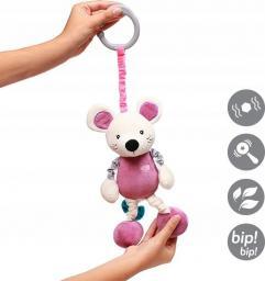 Babyono Zabawka dla dzieci z wibracją MOUSE SYBIL różowa