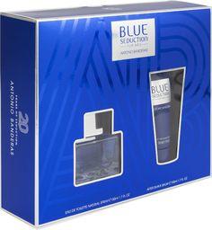 Antonio Banderas Blue Seduction Set for Men: EDT 50 ml + Balsam po goleniu 50 ml