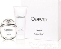 Calvin Klein Zestaw Obsessed Perfumowana woda dla kobiet z EDT 50 ml + Balsam do ciała dla kobiet 100 ml