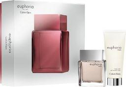 Calvin Klein Zestaw dla mężczyzn Euphoria: EDT 50 ml + żel pod prysznic 100 ml