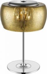Lampa stołowa Zumaline Rain z abażurem