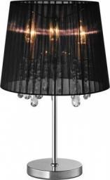 Lampa stołowa Zumaline Cesare z kryształkami