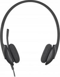 Słuchawki z mikrofonem Logitech USB Headset H340 (981-000475)