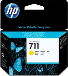 HP tusz CZ132A nr 711 (yellow)