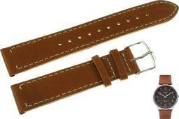 Timex Pasek do zegarka Timex TW2P95800 PW2P95900 20 mm Skóra uniwersalny