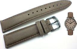 Timex Pasek do zegarka Timex T2N957 P2N957 20 mm Skóra uniwersalny