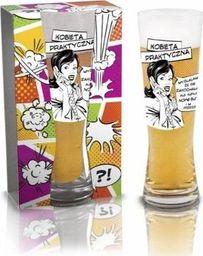 BGtech Szklanka do piwa dla kobiety kobieta praktyczna uniwersalny