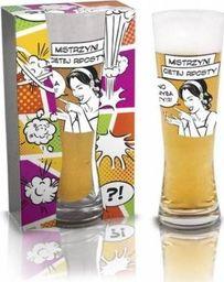 BGtech Szklanka do piwa dla dziewczyny mistrzyni uniwersalny