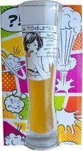 BGtech Szklanka do piwa dla dziewczyny uniwersalny