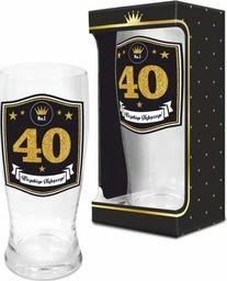 BGtech Szklanka do piwa CZTERDZIESTKA 500 ml  uniwersalny