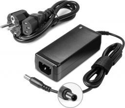 Qoltec Zasilacz do monitora Samsung | 30W | 14V | 2.14A | 6.5*4.4 |    +kabel zasilający-51772