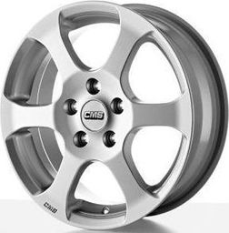 CMS C10 Silver 7x16 5x114.3 ET40