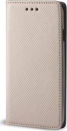 TelForceOne Pokrowiec Smart Magnet do Samsung A7 2018 złoty