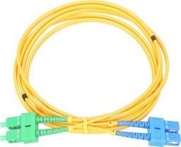 ExtraLink Patchcord światłowodowy   SC/UPC - SC/APC, 1m