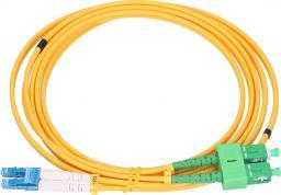 ExtraLink EXTRALINK PATCHCORD SM SC/APC-LC/PC DUP G.657A 1M