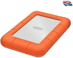 Dysk zewnętrzny LaCie HDD Rugged Mini 1 TB Pomarańczowo-szary (301558)