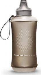 HYDRAPAK  butelka turystyczna Crush Bottle 500 ml mammoth grey (B615M)