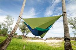 Ticket To The Moon Tarp Waterproof Hammock green