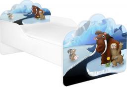 Łóżko z materacem POLA 68, 140x70 cm FROZEN