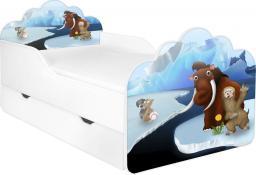 Łóżko z materacem i pościelą  POLA 68, 140x70 cm FROZEN