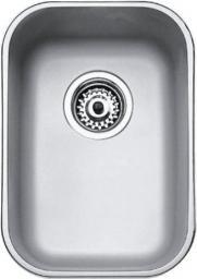 Teka Zlewozmywak 1-komorowy BE 280/400 bez ociekacza 30,7 x 43,3cm stalowy (10125003)