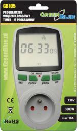 GreenBlue Cyfrowy Wyłącznik czasowy GB105