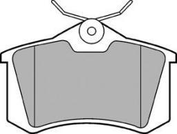 Delphi Klocki Hamulcowe VW/Audi/Skoda Tył (LP565)