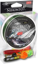 Mikado Plecionka Nihonto Fine Braid 0.10mm 150m Zielona (Z19G-010)