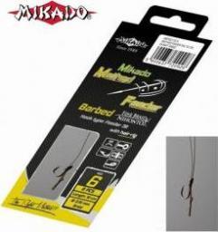 Mikado Haczyk do metody 10 cm + plecionka 0.12mm