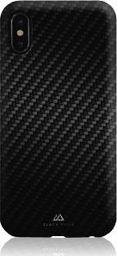 BLACK ROCK Flex Carbon Case iPhone X, czarny